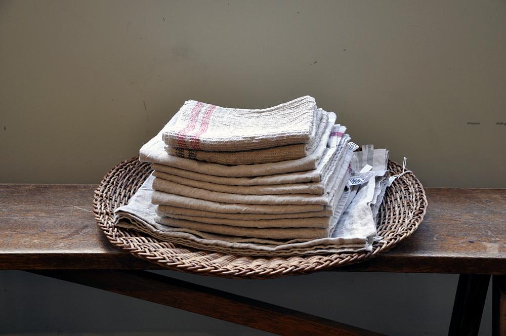 林与 / 国産リネンキッチンタオル / ¥1,200- ~ ¥1,800-