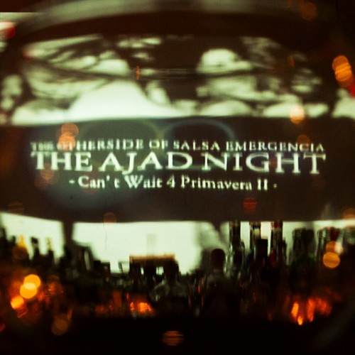 SNAP REPORT EMERGENCIA presents【THE AJADNIGHT】2013.03.23