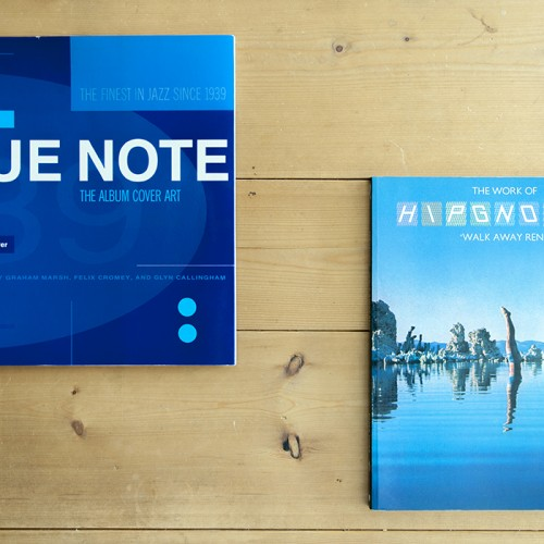 BLUE NOTE – THE ALBUM COVER ART | Graham Marsh | Chronicle Books | 1991 & Walk Away Rene – The Work of Hipgnosis | Storm Thorgerson | PAPER TIGER | 1978