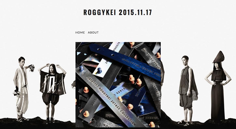 ROGGYKEI 2016 SPRING & SUMMER COLLECTION -変化の意識-|スペシャル前売りチケット(レザーブレスレット)