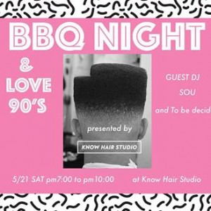 BBQ night & love 90's
