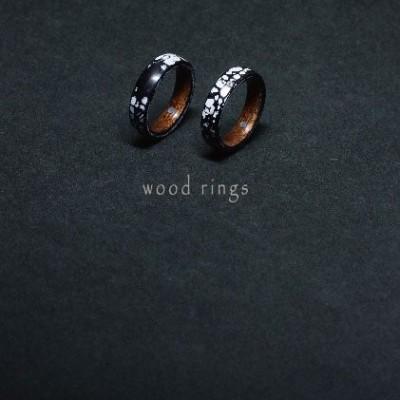 "個展 ""wood rings"" 開催 阿波座chef-d'œuvre"
