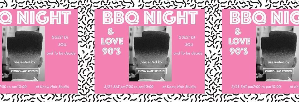 BBQ night & love 90's